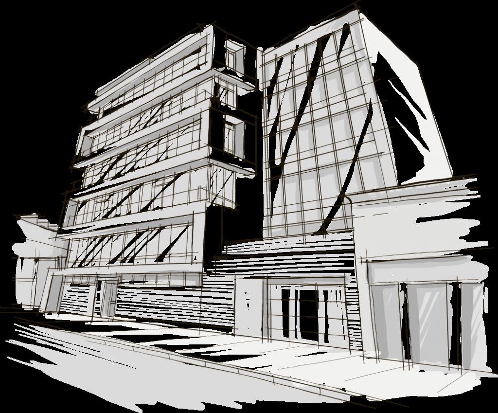 ilustración edificio