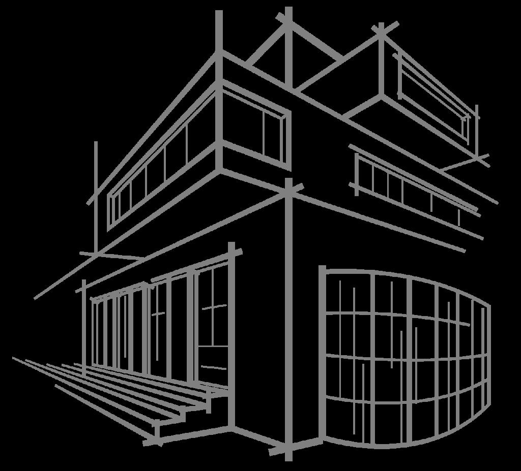 silueta edificio