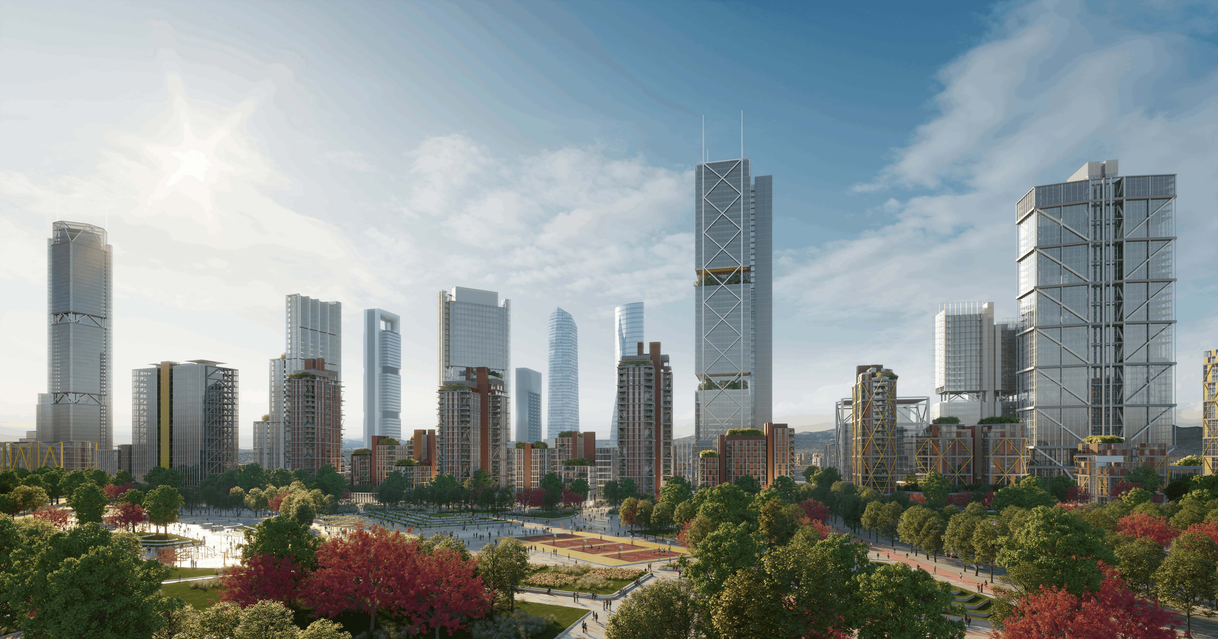 desarrollos inmobiliarios de Madrid